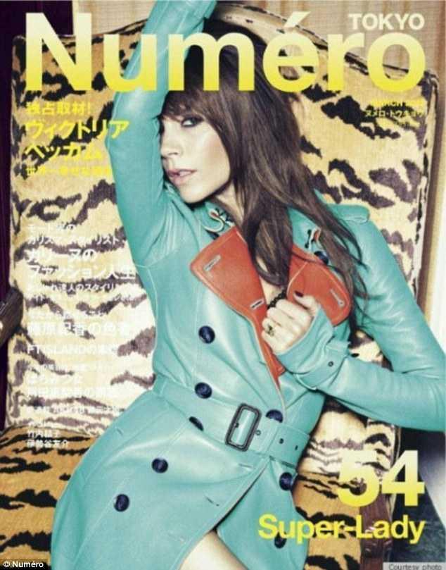 Victoria Beckham en Numéro magazine [Marzo 2012]