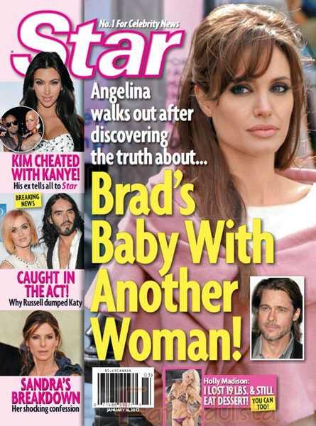 Brad Pitt tiene un hijo con otra mujer y Angelina lo deja [Star]