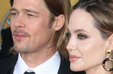 Angelina Jolie y Brad Pitt en los SAG Awards 2012 – Red Carpet – Ganadores