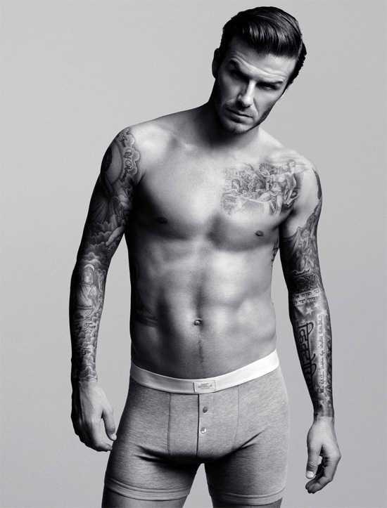 David Beckham para H&M Underwear