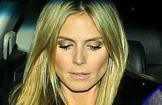 Heidi Klum aun lleva el anillo de matrimonio - What?