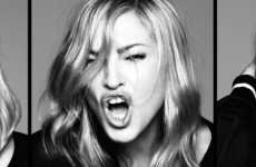 "Madonna en el single cover de ""Give Me all your Luvin"" – MDNA"