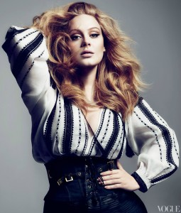 Adele en Vogue magazine [Marzo 2012]