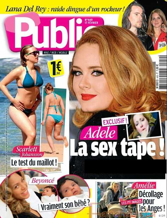 Adele en un sex tape? No way, demanda a revista francesa por fake pics!