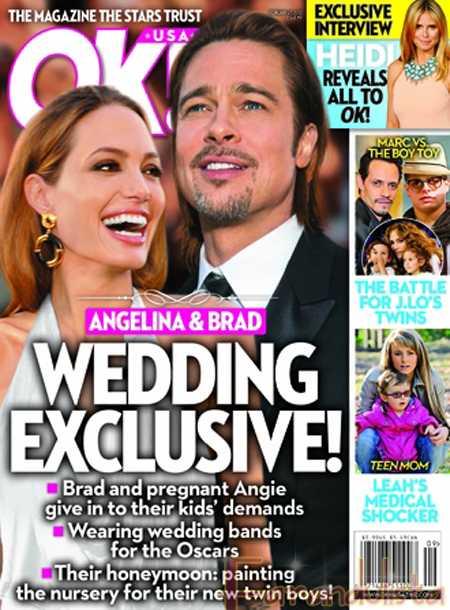 OK! La Boda EXCLUSIVA de Angelina y Brad - OMG!