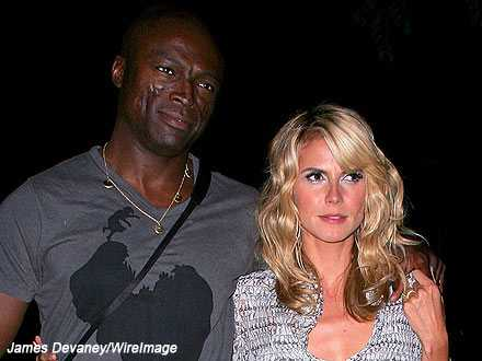 Heidi Klum y Seal no tienen planes de reconciliarse