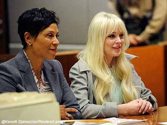 Lindsay Lohan en la recta final [visita a la corte]
