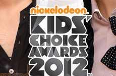 Nominados a los Nickelodeon Kids' Choice Awards 2012