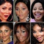 Lil' Kim no sé que es peor, su rostro o el maquillaje
