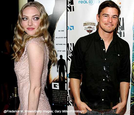 New Couple!!? Amanda Seyfried y Josh Harnett?