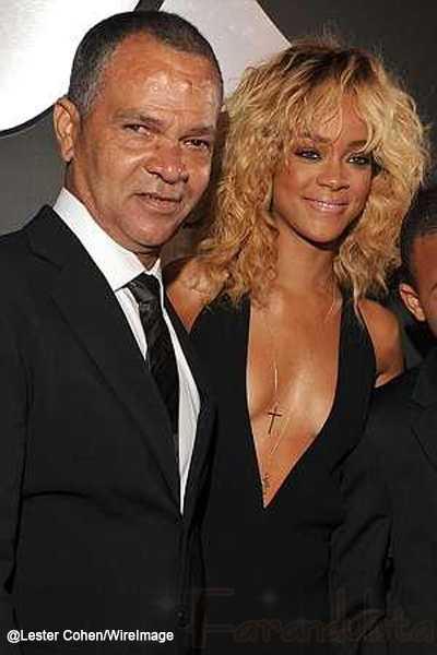 He aqui la explicación! El padre de Rihanna aprueba a Chris Brown... OMG!