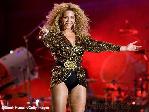 Beyonce prepara 3 conciertos 5 meses después de dar a luz... O sea!