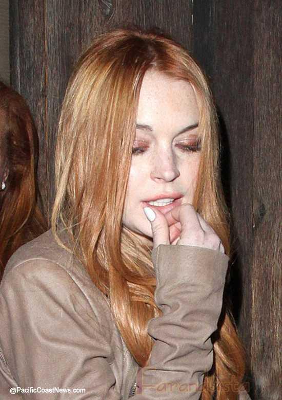 Lindsay Lohan encerrada hasta que termine su libertad condicional