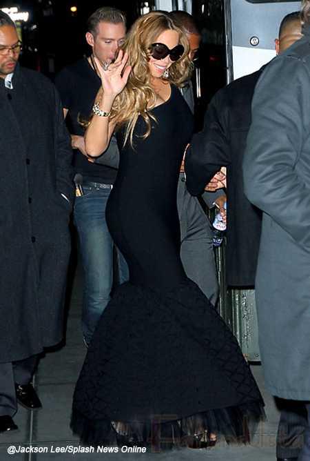 Mariah Carey en su primer concierto desde que dio a luz - Nice!