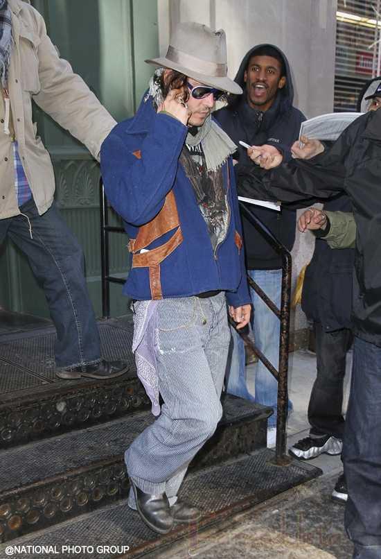 Johnny Depp y Ashley Olsen pasan la noche juntos? W-T-F?