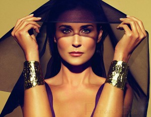 Demi Moore para Helena Rubinstein? PROMOS