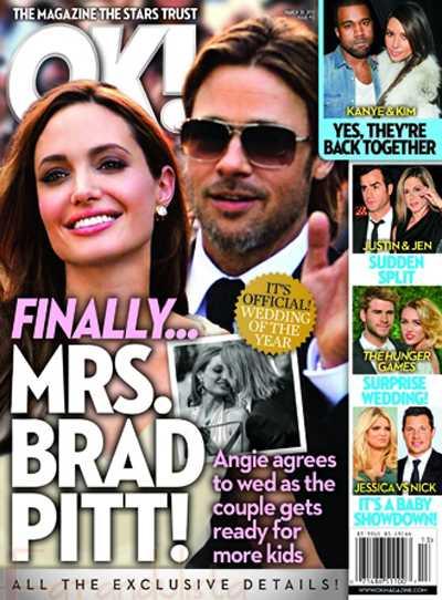 Finalmente Angelina será la Sra. Pitt - La boda del año! [OK!]