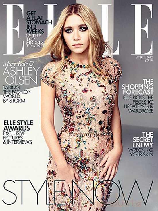 Ashley & Mary Kate Olsen Elle magazine - Ashley renuncia a la actuación