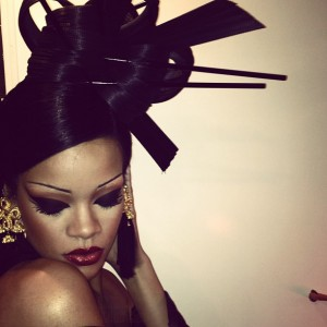 Rihanna en el set de Princess Of China