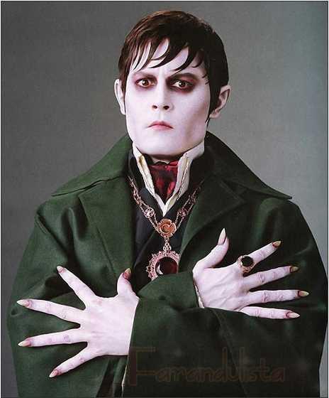 Johnny Depp en Dark Shadows - TRAILER!