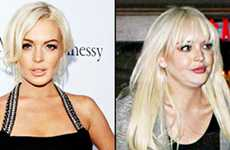 WTF? Qué le pasó a la cara de Lindsay Lohan??