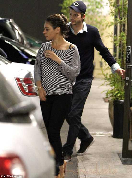 Ashton Kutcher y Mila Kunis? Kelso y Jackie again!?
