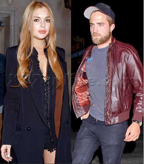 Lindsay Lohan y Robert Pattinson de fiesta