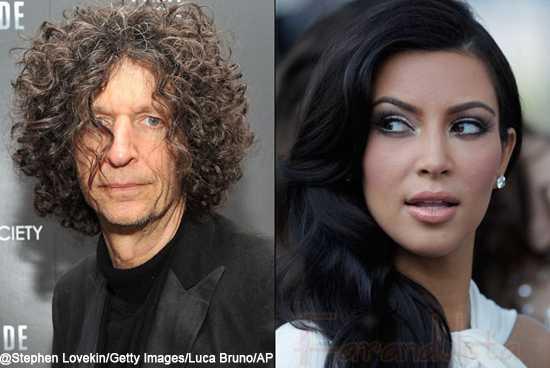 Howard Stern critica a Kim K porque ahora es tímida - LOL!
