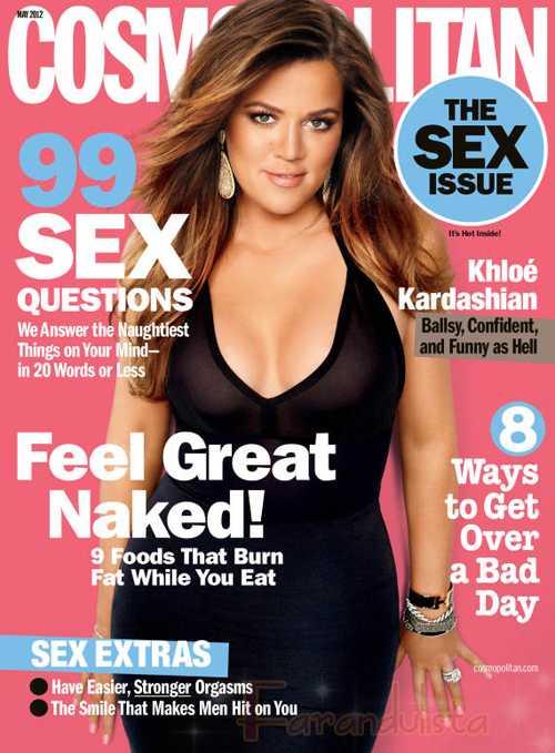 Khloe Kardashian en Cosmopolitan - o...m...g