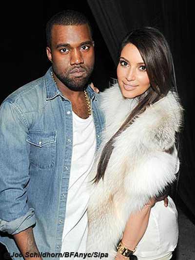Of course! Kim Kardashian y Kanye West saliendo! La pareja del año!