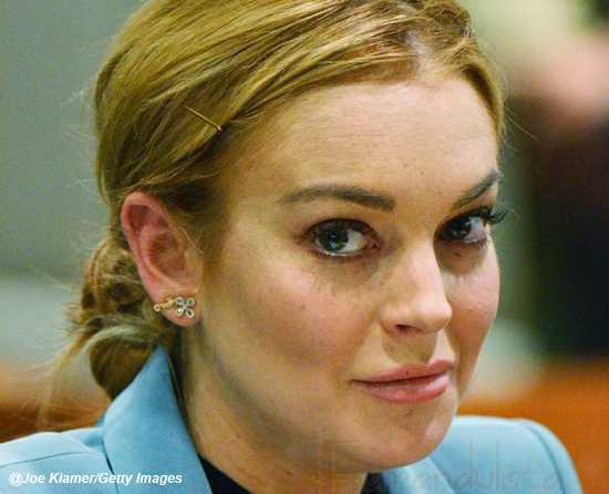 Lindsay Lohan en problemas again por golpear a una mujer!