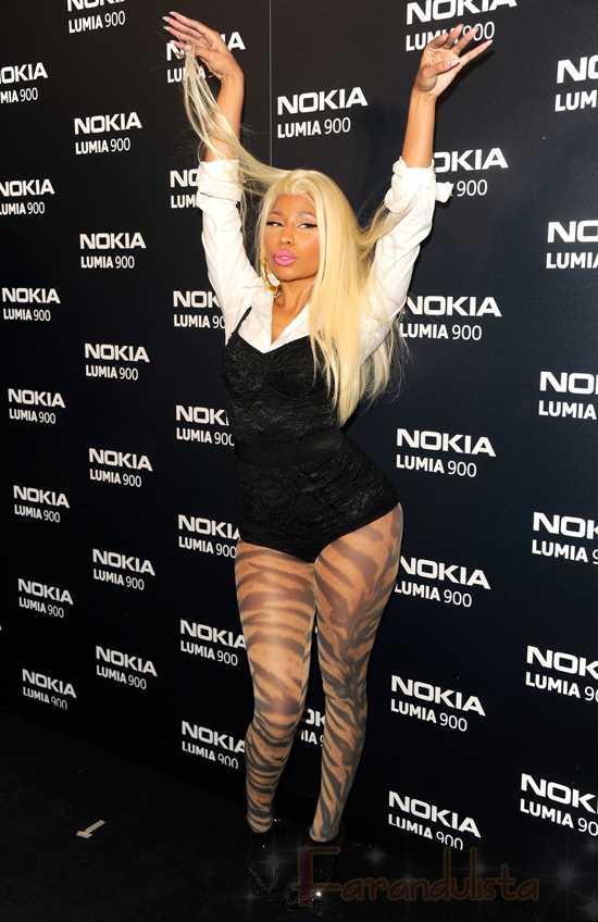 Nicki Minaj niega sexualizar su imagen para verder - HA!