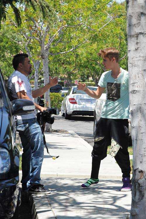 Justin Bieber sospechoso de atacar a un paparazzi!
