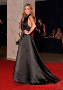 La buena acción de Lindsay Lohan en la Casa Blanca...