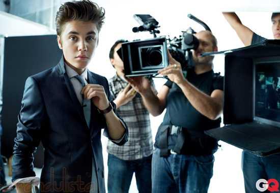Justin Bieber en GQ Magazine - Fotos y Video!