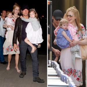 Nicole Kidman y su hija Faith en Harper's Bazaar [Australia]