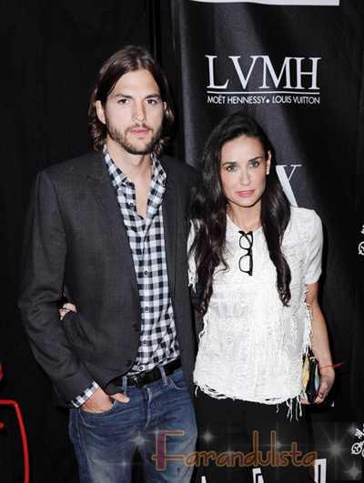 Demi Moore y Ashton Kutcher podrian reconciliarse?