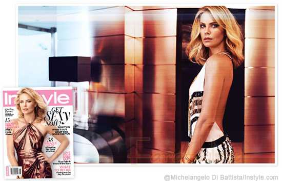 Charlize Theron InStyle magazine [Junio 2012]