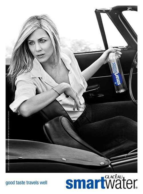 Jennifer Aniston para Smart Water - Promos