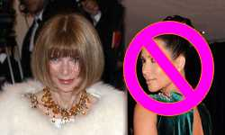 Anna Wintour no es fan de Kim Kardashian – HA!!!