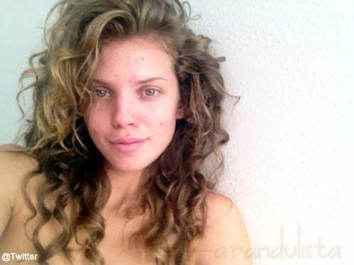 AnnaLynne McCord sin maquillaje!