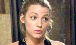 Blake Lively dice que Gossip Girl no es su mejor trabajo