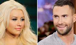 Detalles de la pelea entre Christina Aguilera y Adam Levine!!
