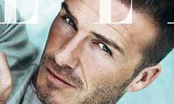 David Beckham en Elle magazine [Julio 2012]