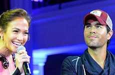 Jennifer Lopez y Enrique Iglesias – Quien es el primero?