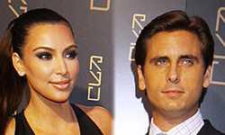 Kim Kardashian coquetea con Scott Disick? Kourtney traicionada!