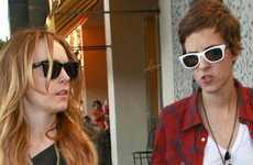 Lindsay Lohan y Samantha Ronson reunidas??