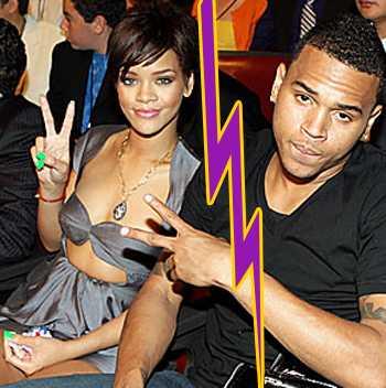 Rihanna y Chris Brown - Terminan en Twitter