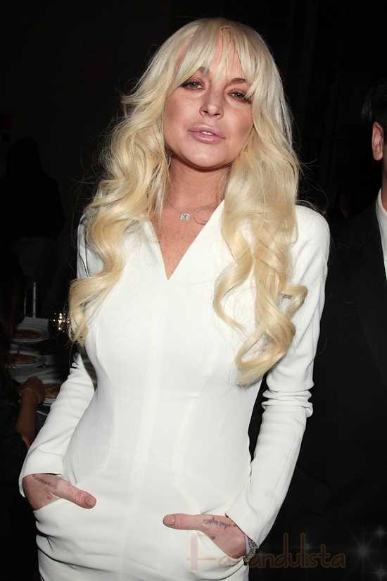 Lindsay Lohan le mintió a la policia - Naaah!