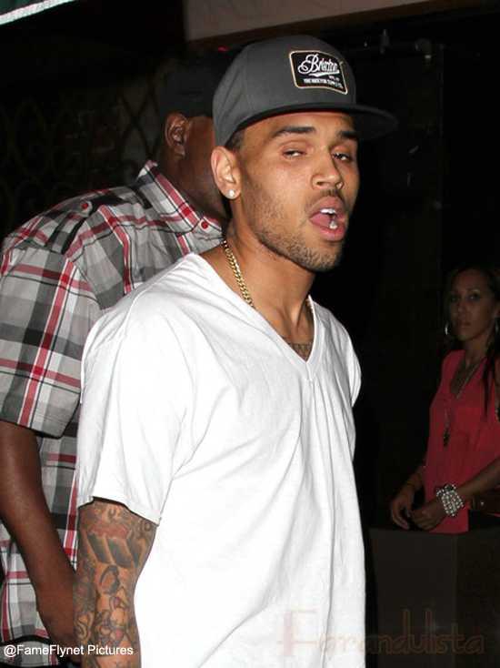 Chris Brown herido en una pelea con la gente de Drake